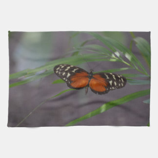 Natural Butterfly Kitchen Towel