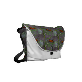 Natural Butterfly Small Messenger Bag
