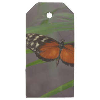 Natural Butterfly Wooden Gift Tags