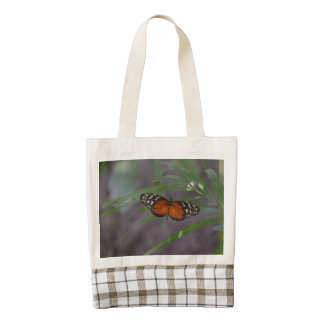 Natural Butterfly Zazzle HEART Tote Bag