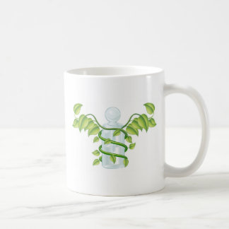 Natural caduceus bottle concept mugs