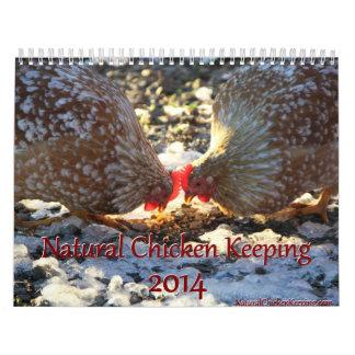 Natural Chicken Keeping 2014 Calendar + Tips