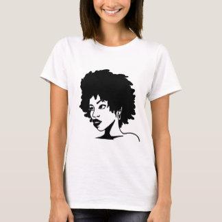 Natural Coily Hair Diva T-shirt