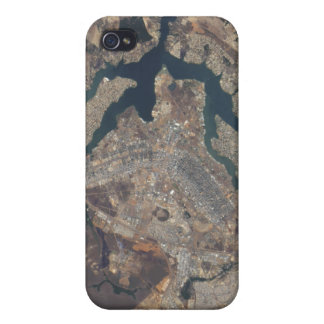 Natural-color image of Bras�lia, Brazil Covers For iPhone 4