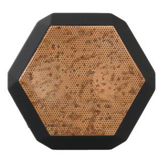 Natural Cork Look Wood Grain Black Bluetooth Speaker