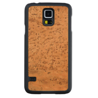 Natural Cork Look Wood Grain Carved® Maple Galaxy S5 Slim Case