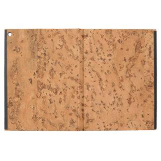 Natural Cork Look Wood Grain iPad Pro Case