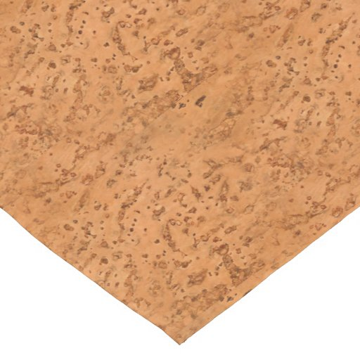 Natural Cork Look Wood Grain Short Table Runner Zazzle