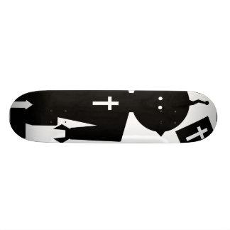 Natural Corvus Skateboard Deck