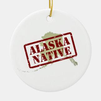 Natural de Alaska sellado en mapa Adorno De Reyes