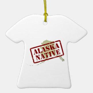 Natural de Alaska sellado en mapa Ornamento De Reyes Magos