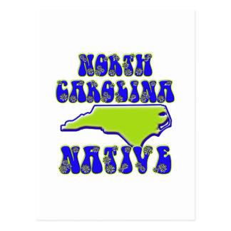 Natural de Carolina del Norte Tarjetas Postales