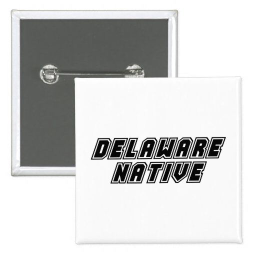 Natural de Delaware Pin Cuadrada 5 Cm