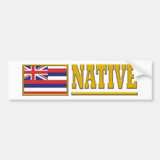 Natural de Hawaii Pegatina Para Auto