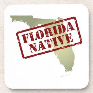 Natural de la Florida sellado en mapa Posavasos