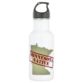 Natural de Minnesota sellado en mapa