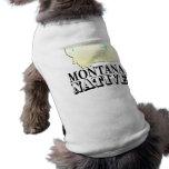 Natural de Montana Playera Sin Mangas Para Perro