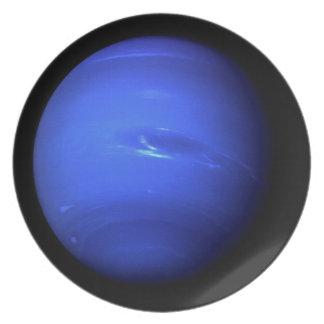 ~ natural de NEPTUNO del PLANETA (Sistema Solar) Plato De Cena