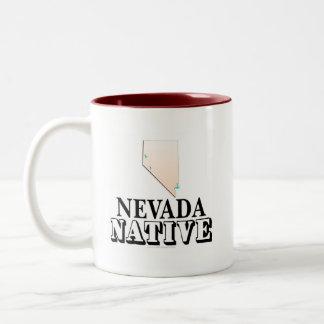 Natural de Nevada Taza Dos Tonos