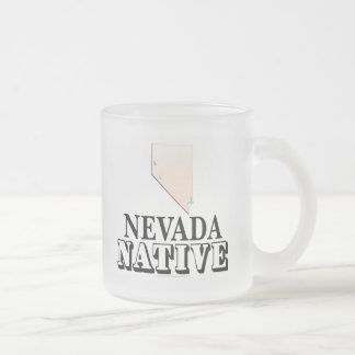 Natural de Nevada Taza Cristal Mate