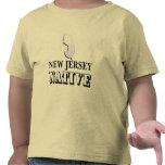 Natural de New Jersey Camisetas