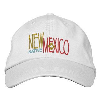 Natural de New México Gorra De Béisbol