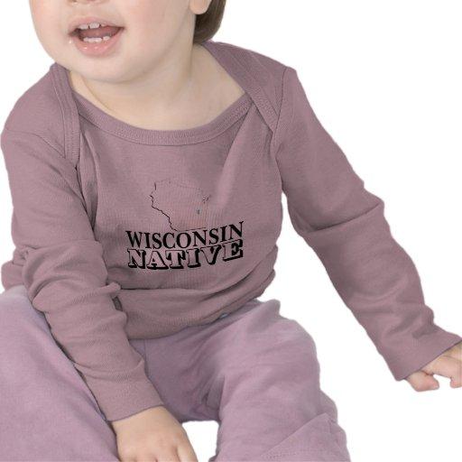 Natural de Wisconsin Camisetas