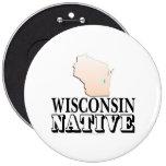 Natural de Wisconsin Pin