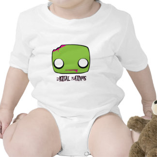 Natural del zombi trajes de bebé