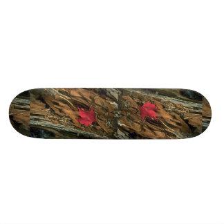 Natural design skateboard deck