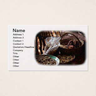 Staples business cards templates zazzle natural dried grain seeds a staple from peru business card colourmoves