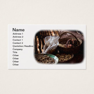 Natural Dried Grain Seeds - A Staple From Peru Business Card
