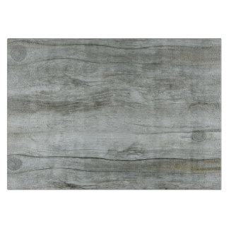 Natural Driftwood Background Cutting Board