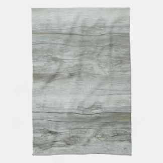 Natural Driftwood Background Towel