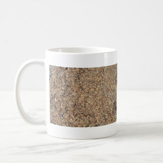 Natural Dry Grass Background Texture Classic White Coffee Mug