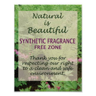 Natural es hermoso póster