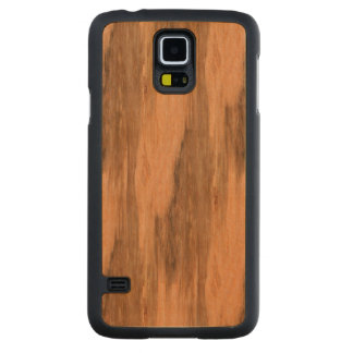 Natural Eucalyptus Wood Grain Look Carved® Maple Galaxy S5 Case