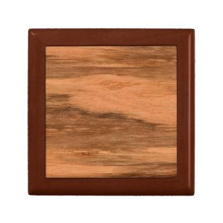 Natural Eucalyptus Wood Grain Look Gift Box