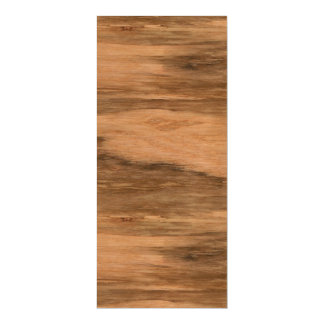 Natural Eucalyptus Wood Grain Look Magnetic Card