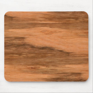 Natural Eucalyptus Wood Grain Look Mouse Pad