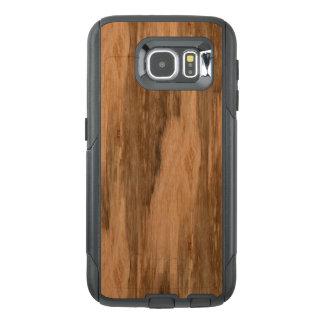 Natural Eucalyptus Wood Grain Look OtterBox Samsung Galaxy S6 Case