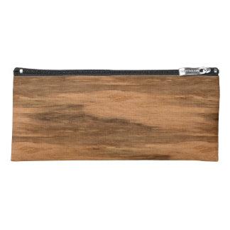 Natural Eucalyptus Wood Grain Look Pencil Case