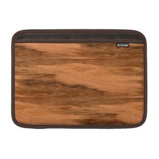 Natural Eucalyptus Wood Grain Look Sleeve For MacBook Air