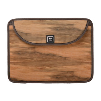Natural Eucalyptus Wood Grain Look Sleeve For MacBooks