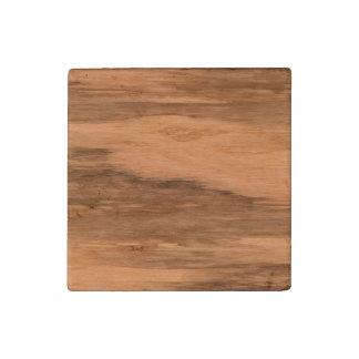 Natural Eucalyptus Wood Grain Look Stone Magnet