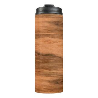 Natural Eucalyptus Wood Grain Look Thermal Tumbler
