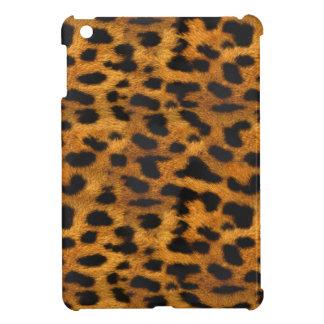 Natural Faux Leopard Fur iPad Mini Case
