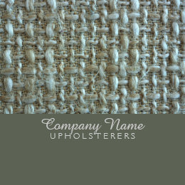 Natural fiber office products supplies zazzle natural fiber upholsterer business card natural fiber upholsterer business card reheart Images