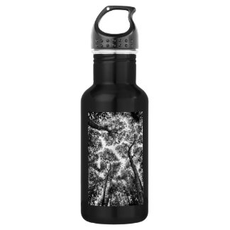 Natural Fit (tree tops) Stainless Steel Water Bottle