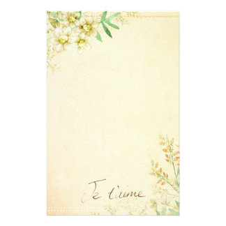 Natural Floral Stationary Paper Stationery